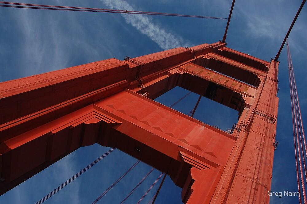 Blue Sky, Golden Gate by Greg Nairn