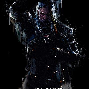 Witcher Wild Hunt - Geralt by fando01