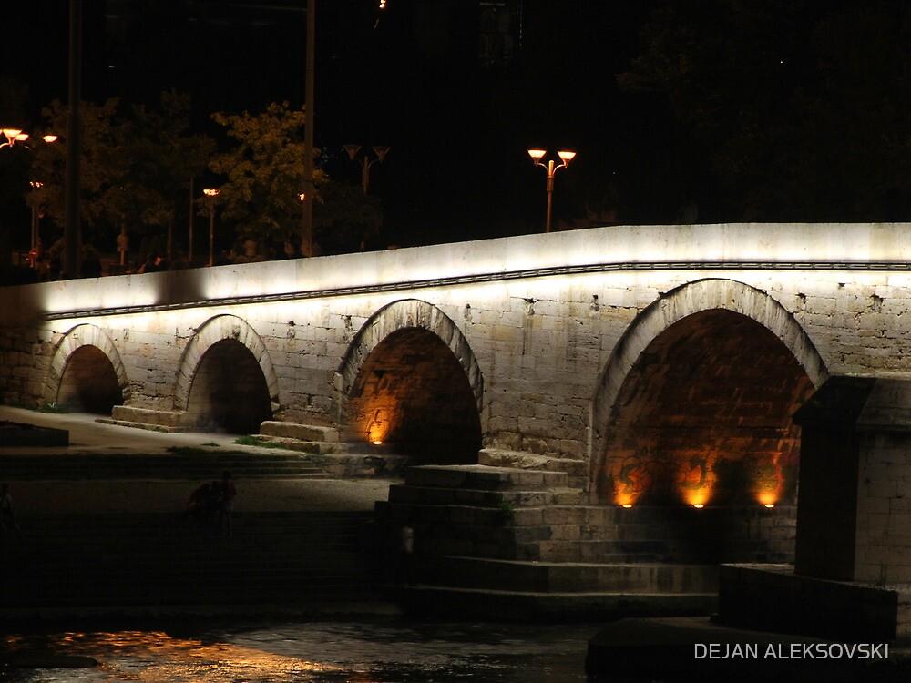 Stone bridge by DEJAN ALEKSOVSKI