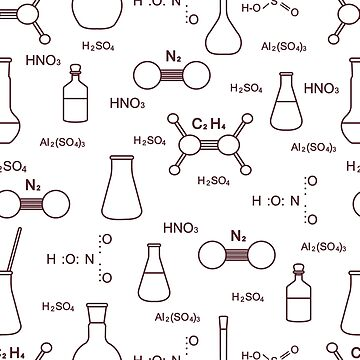 Scientific pattern. Chemistry, biology, medicine. by aquamarine-p