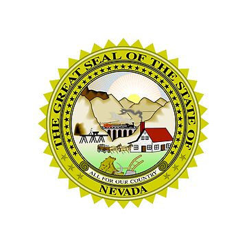 Nevada State Seal by fourretout