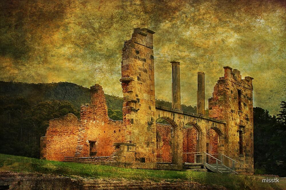 Port Arthur ruin by misstk