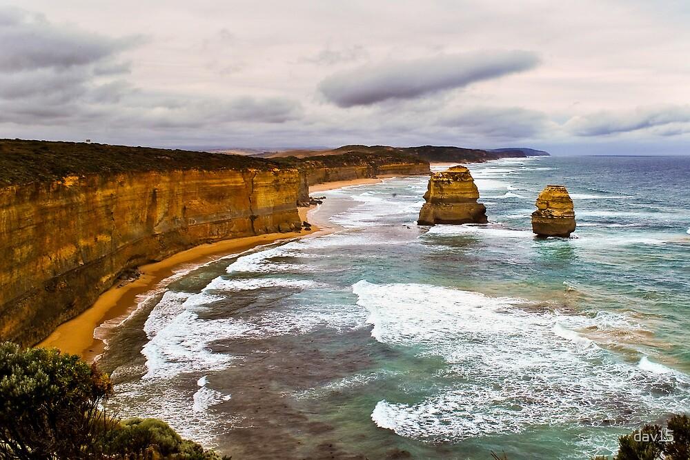 Great Ocean Road Stacks by dav15