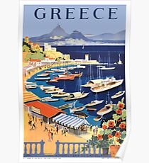 Greece / Greek Islands Poster