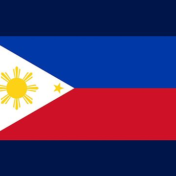 Filipino National Flag - Philippines T-Shirt Sticker by deanworld