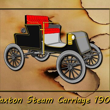 Jaxton Steam Carriage 1903 by ZipaC