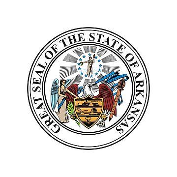 Seal of Arkansas by fourretout