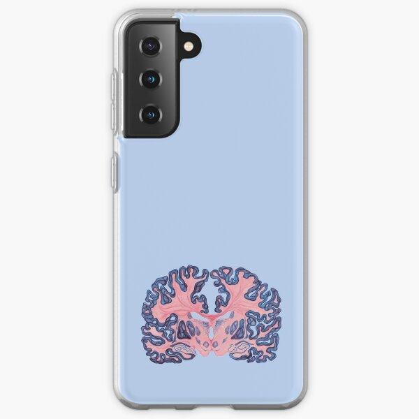 Gyri and Swirls of Human Brain Samsung Galaxy Soft Case