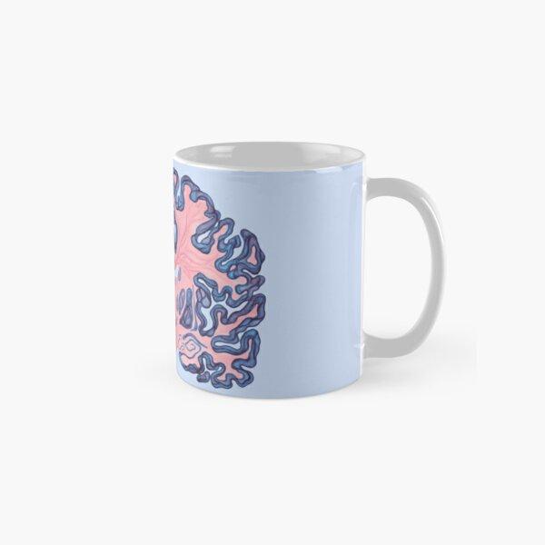 Gyri and Swirls of Human Brain Classic Mug