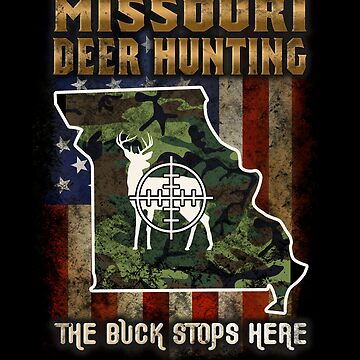 Missouri Deer Hunter American Flag Deer Hunting Gifts American Hunting Apparel by vince58