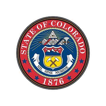 Seal of Colorado by fourretout