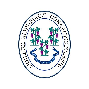 Seal of Connecticut by fourretout