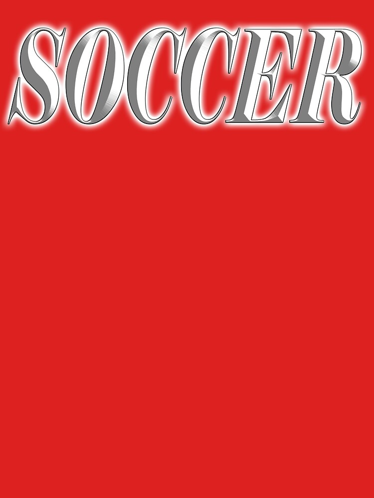 SOCCER, TYPE by TOMSREDBUBBLE