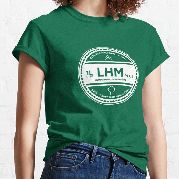 Original Citroen LHM Hydraulic Fluid Logo (in French) Classic T-Shirt