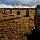 The Hurlers Stone Circle - Cornwall by Samantha Higgs