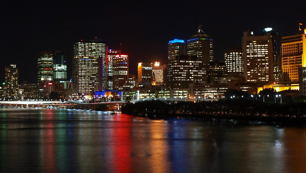 Cityscape - Brisbane's Southbank by Cameron Anderson