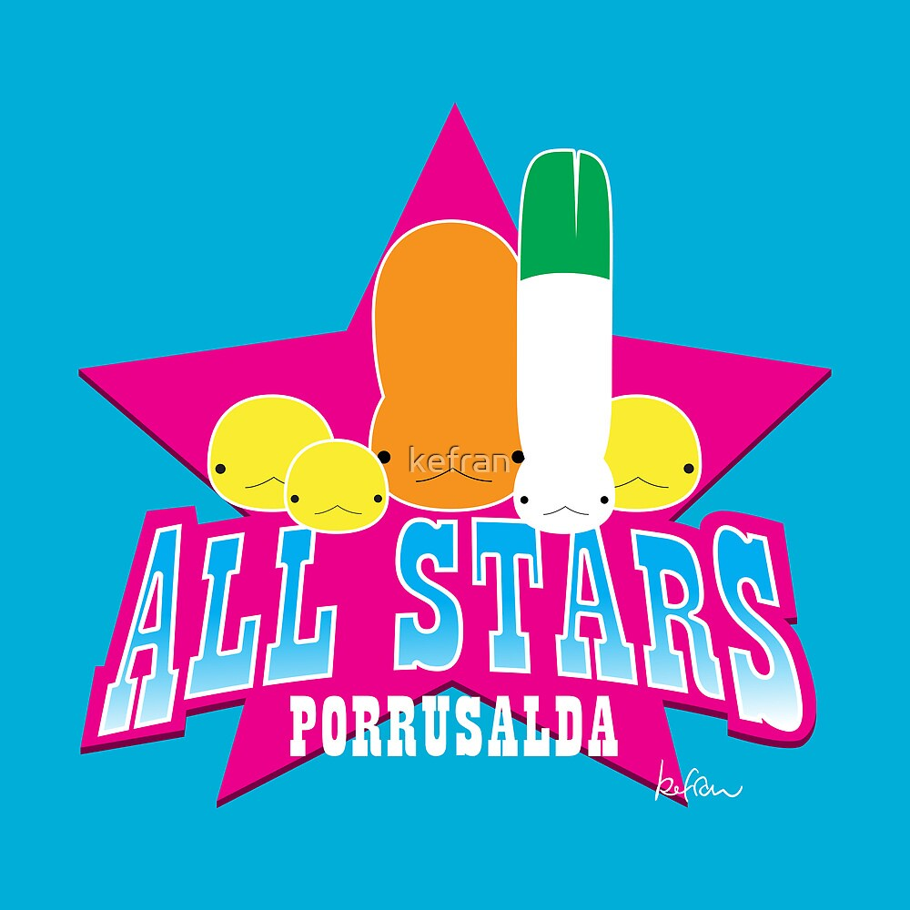 porrusalda all stars by kefran