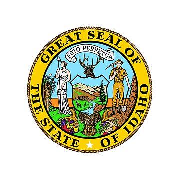 Seal of Idaho by fourretout