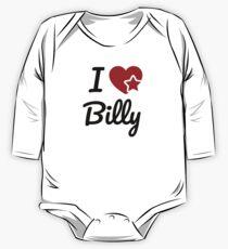I love Billy, I heart Billy Soul-Mate One Piece - Long Sleeve