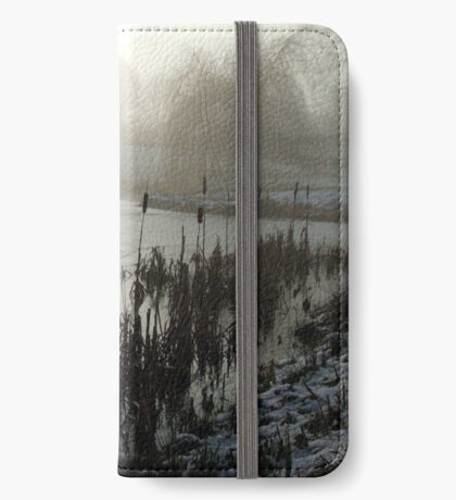 Morning on the Golf Course iPhone Wallet