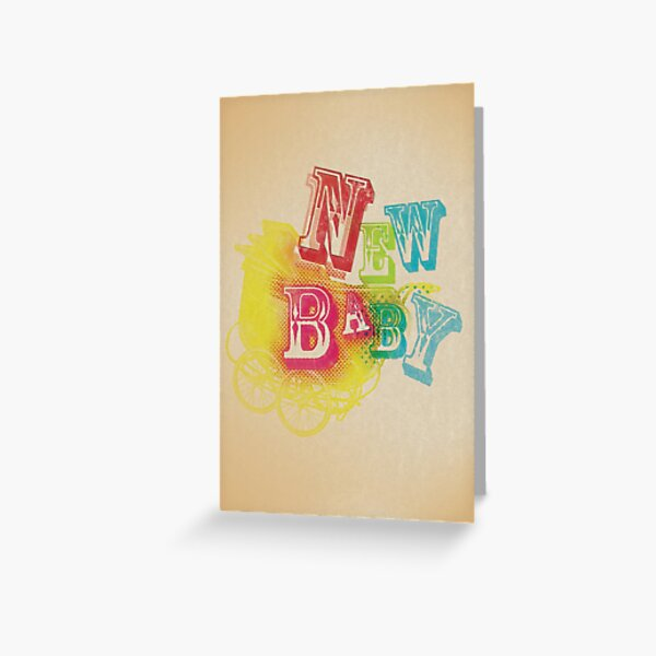 New Baby Card Greeting Card