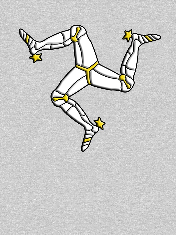 MANX FLAG, Isle of Man, MANX, LEGS, Brattagh Vannin, Triskelion, Ny tree cassyn by TOMSREDBUBBLE