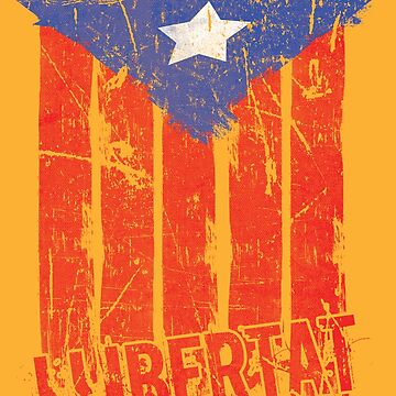 Catalonia Independence Catalan Llibertat by EddieBalevo