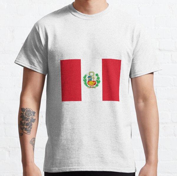 Peru Peruvian Incan Inkan Flag Macchu Picchu Flag Pride Juniors T-shirt