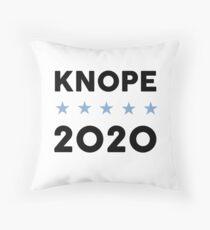 Knope 2020 Throw Pillow