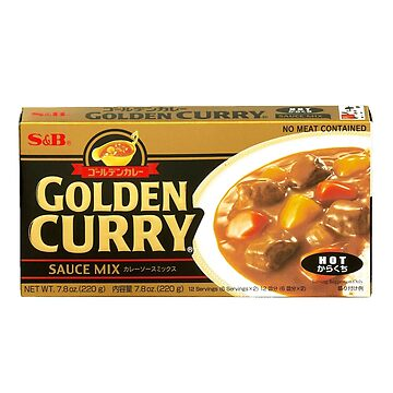 S&B Golden Curry Sauce Mix Packaging by sp00kem