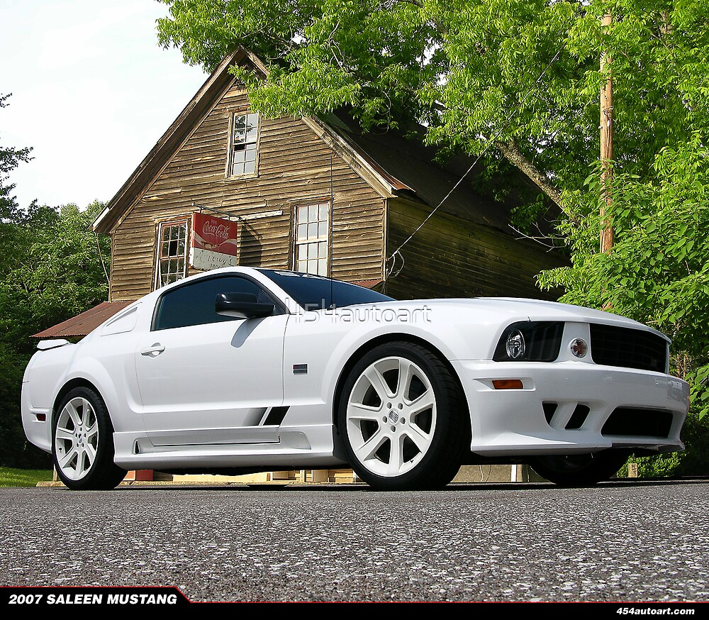 2007 Ford Mustang Saleen by 454autoart