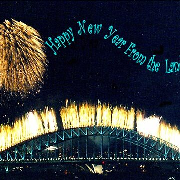 HAPPY NEW YEAR FROM THE LAND OF OZ by chrisjoy