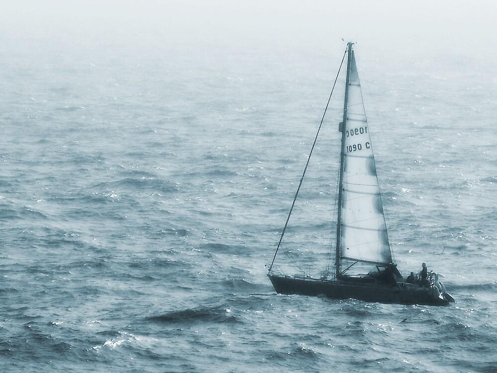 Blue sailing by CaptKremmen