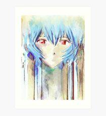 Ayanami Rei Evangelion Anime Tra Peinture Numérique Impression artistique