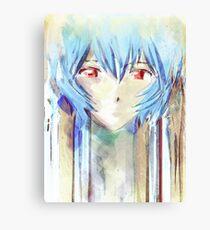 Ayanami Rei Evangelion Anime Tra Digitale Malerei Leinwanddruck