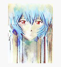 Ayanami Rei Evangelion Anime Tra Digitale Malerei Fotodruck