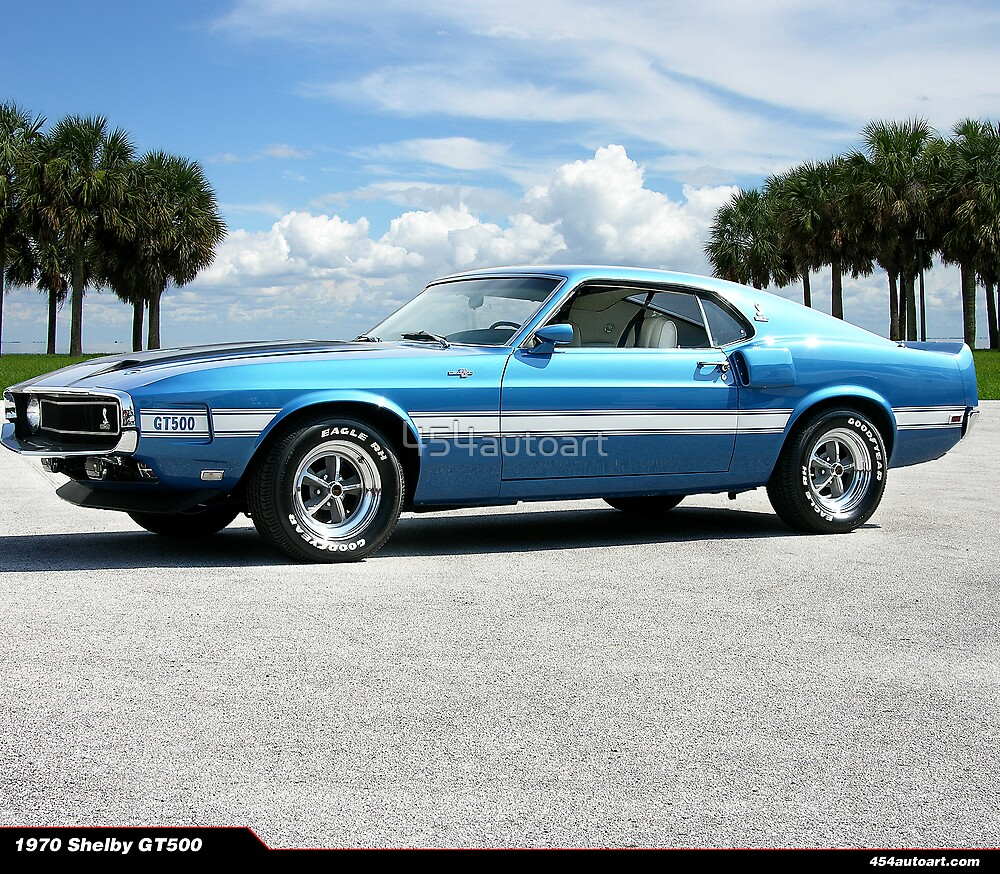 1970 Ford Mustang Shelby GT 500 by 454autoart