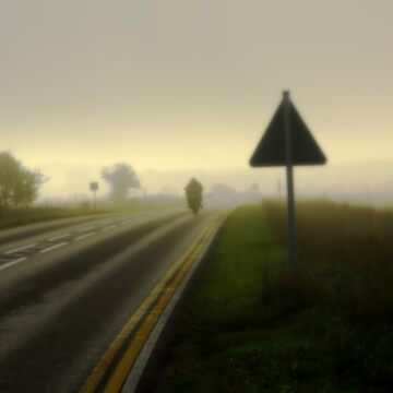 Leaving Early, Misty Morning. by Billlee