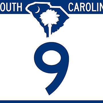 South Carolina State Route Marker by PZAndrews