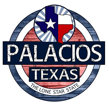 Palacios Texas rustic wood circle by artisticattitud