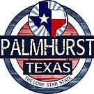 Palmhurst Texas rustic wood circle by artisticattitud