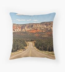 Scenic Bi-Way 12 - The Road To Red Canyon © Throw Pillow