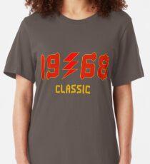 1968 Classic Design T Shirt & Tanks Slim Fit T-Shirt