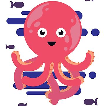 Funny Octopus Shirt Cute Design by epicshirts
