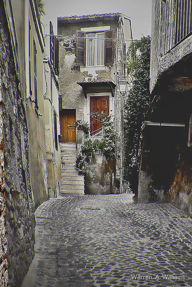 Italian Alley by Warren. A. Williams