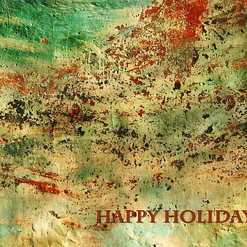 Abstract Happy Holidays by davesphotoart