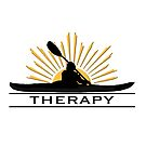 KAYAK THERAPY - I Love Kayaking Design  by lmaoshop