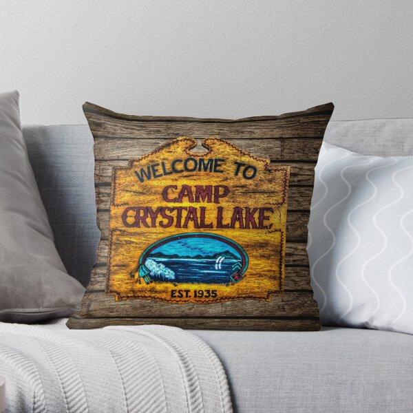 Camp Crystal Lake Throw Pillow