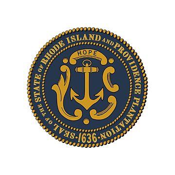 Seal of Rhode Island by fourretout