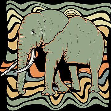 Elephant proboscis by GeschenkIdee